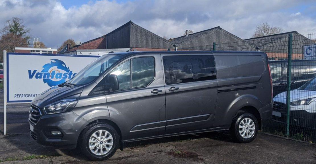 ford transit custom double cab automatic